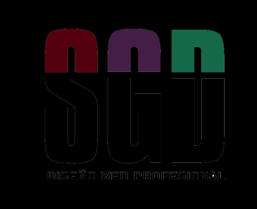SGD Diseño web profesional - Logo Transparente